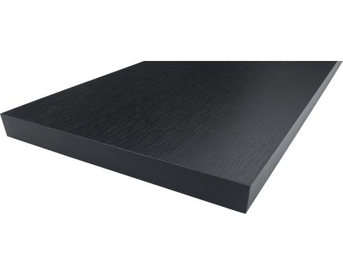 Etagère frêne noir 19x200x2630 mm