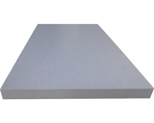 Etagère aspect métal 19x200x1000 mm