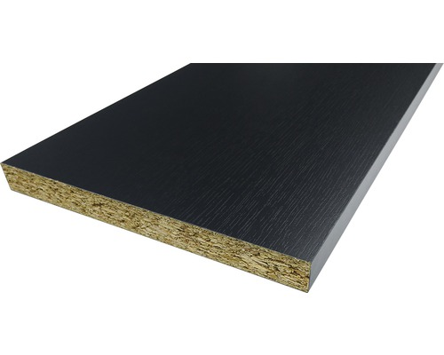 Panneau d''ammeublement frêne noir 19x200x2630 mm