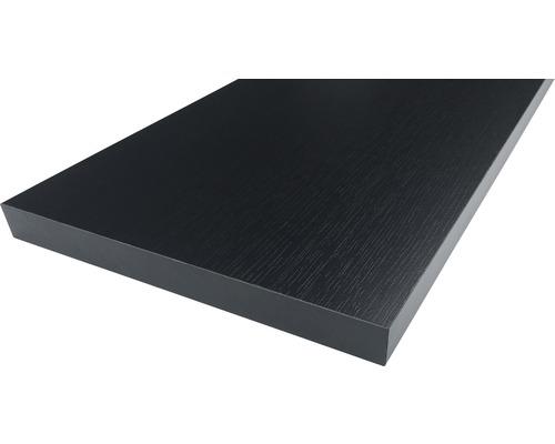 Panneau d''ammeublement frêne noir 19x400x2630 mm
