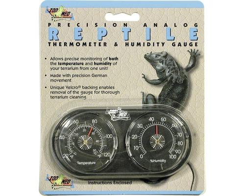 Thermomètre et hygromètre ZOO MED analogues