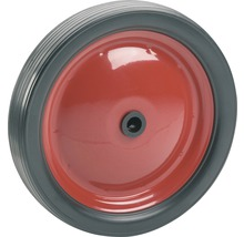 Roue PVC Tarrox sur jante métallique jusqu'à 15kg. 130x21x12mm, moyeu 34-thumb-0