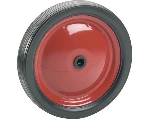 Roue PVC Tarrox sur jante métallique jusqu'à 15kg. 148x23x12mm, moyeu 31-0