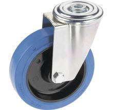 Roulette d'appareil de transport Tarrox avec surface de roulement intégrale en caoutchouc élastique jusqu'à 200kg 125x36mm-thumb-0