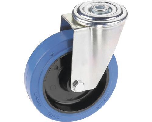 Roulette d'appareil de transport Tarrox avec surface de roulement intégrale en caoutchouc élastique jusqu'à 200kg 125x36mm-0