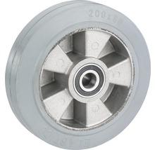 Roue pour charges lourdes Tarrox avec jante aluminium et pneus pleins en caoutchouc 200x50x25mm jusqu'à 400kg-thumb-0