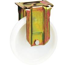 Roulette fixe pour charges lourdes Tarrox 150x50mm jusqu'à 750kg, dimensions du plateau 140x110mm-thumb-0