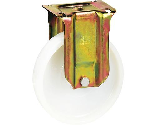 Roulette fixe pour charges lourdes Tarrox 150x50mm jusqu'à 750kg, dimensions du plateau 140x110mm-0