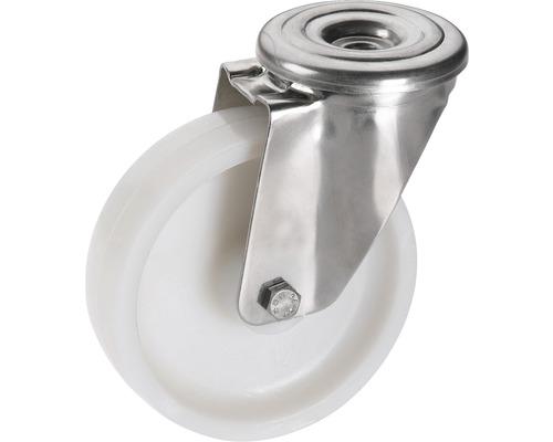Roulette pivotante en polyamide Tarrox 150x40 mm jusqu''à 300 kg, sans plaque-0