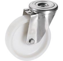 Roulette pivotante en polyamide Tarrox 100x30mm jusqu'à 150kg-thumb-0