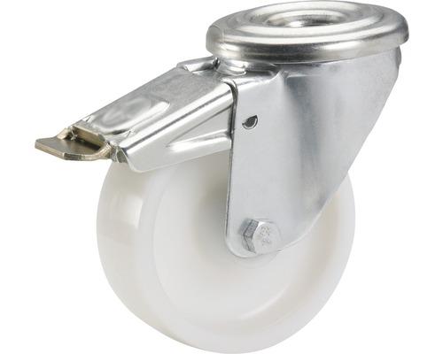 Roulette pivotante Tarrox blocable polyamide 125x40 mm jusqu''à 220 kg-0