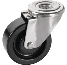 Roulette pivotante en résine phénolique Tarrox 150x50mm jusqu'à 300kg, résistante à la chaleur jusqu'à 250°C-thumb-0