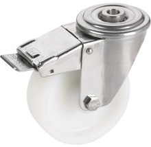 Roulette pivotante en polyamide Tarrox 125x30mm jusqu'à 220kg-thumb-0
