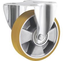 Roulette fixe pour charges lourdes Tarrox 125x50mm jusqu'à 450kg, dimensions du plateau 137x105mm-thumb-0