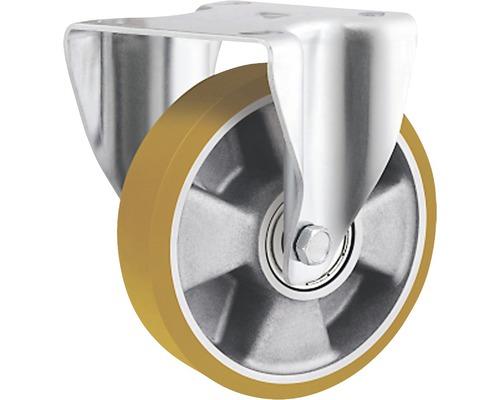 Roulette fixe pour charges lourdes Tarrox 125x50mm jusqu'à 450kg, dimensions du plateau 137x105mm-0