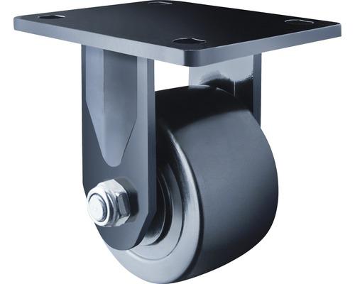 Roulette fixe pour charges lourdes Tarrox 75x50mm jusqu'à 600kg, dimensions du plateau 105x85mm-0