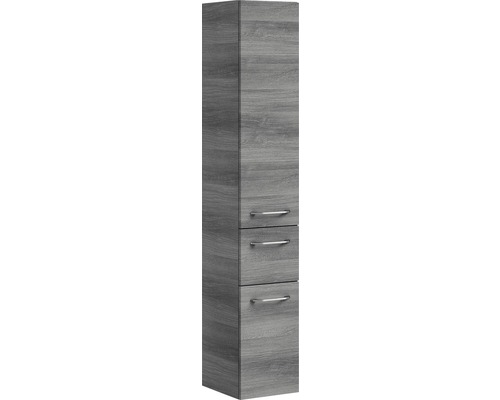 Armoire haute Pelipal Sunline 108 graphite structure 168x30x33cm