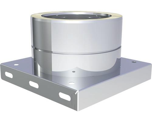Plaque de base Jeremias DW-Eco avec écoulement inférieur Ø130mm