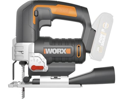 Scie sauteuse sans fil Worx WX543.9 20V, sans batterie ni chargeur