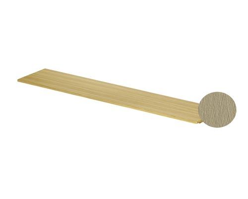 BETTE Holzeinlage für Handtuchhalter Lux Shape 60x12x1,9 cm Eiche Creme Q042-812