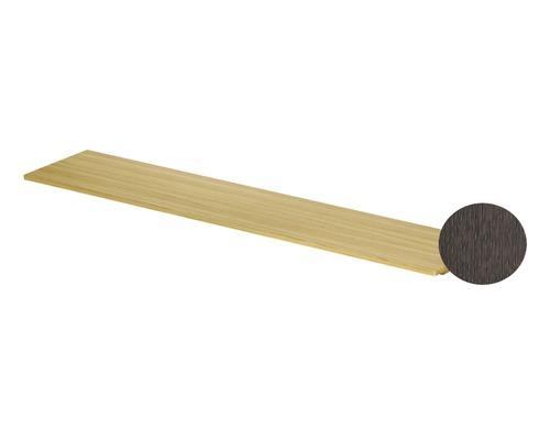 BETTE Holzeinlage für Handtuchhalter Lux Shape 20x12x1,9 cm Eiche Mocca Q040-813