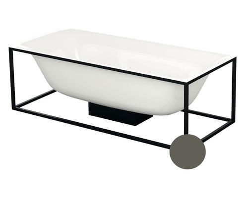 Cadre Bette pour baignoire Lux Shape Q001 170x75 cm Taupe mat