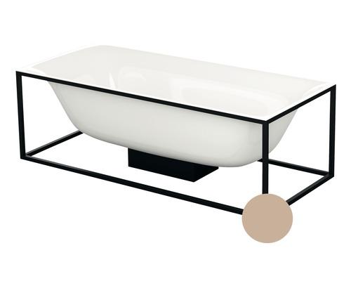Cadre Bette pour baignoire Lux Shape Q001 170x75 cm Rose mat