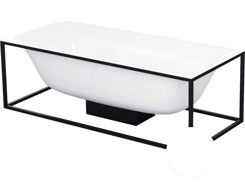 Cadre Bette pour baignoire Lux Shape Q001 170x75 cm blanc mat