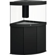 Kit complet d'aquarium JUWEL Trigon 190 SBX avec éclairage LED, filtre, chauffage et meuble bas noir-thumb-1