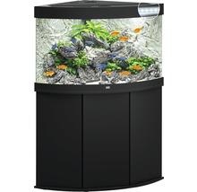 Kit complet d'aquarium JUWEL Trigon 190 SBX avec éclairage LED, filtre, chauffage et meuble bas noir-thumb-2