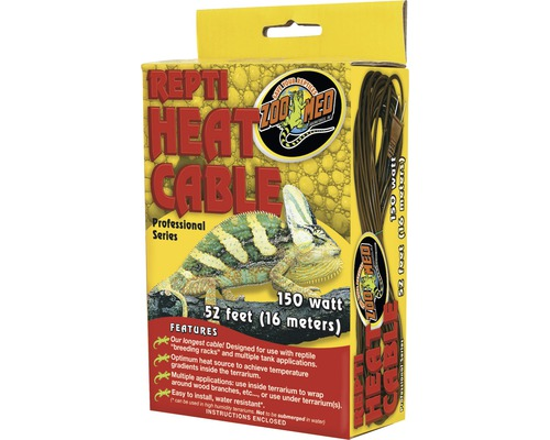Heizkabel ZOO MED Repti Heat Cable 150 W 16 m