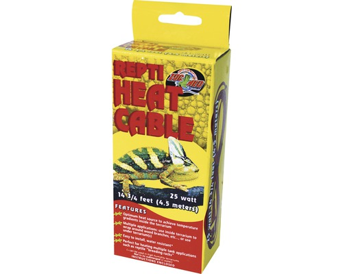 Heizkabel ZOO MED Repti Heat Cable 25 W 4,5 m