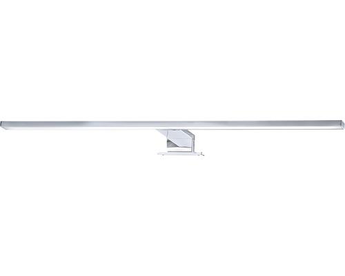 Applique de miroir LED chrome IP44 8W 780 lm 4000 K blanc neutre 600 mm