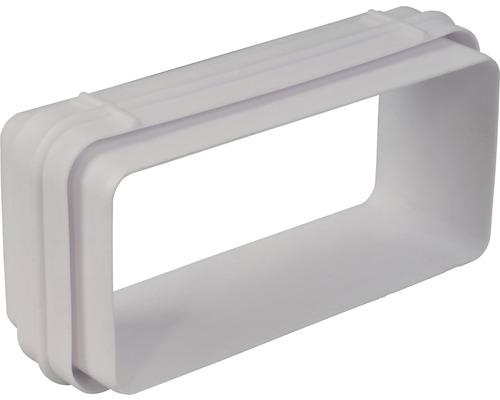 Connecteur de tube plat Rotheigner blanc 111x54 mm