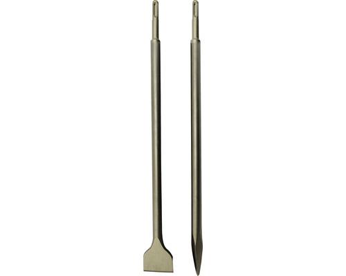Set de burins SDS-Plus 2 pces, 450 mm