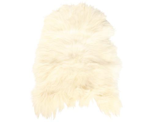 Peau de mouton Island blanc 90x60 cm