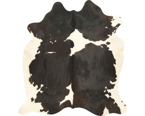Peau de vache noir et blanc 200x150 cm