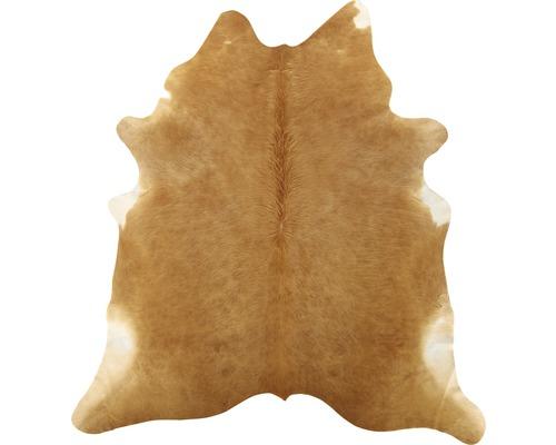 Peaux de vache marron clair 200x150 cm