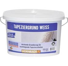 Apprêt pour pose de tapisserie intissée blanc 2.5 L