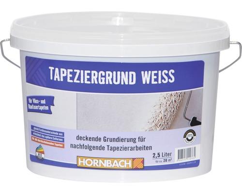 Tapeziergrund für Vliestapeten weiß 2,5 l
