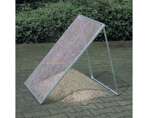 Crible à compost, métal étiré, 120x80 cm
