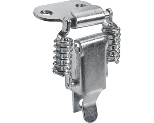 Serrure pour caisses galvanisée 21x78 mm, 5 pièces