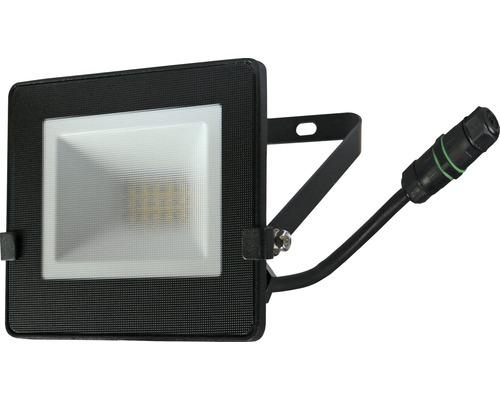Projecteur LED IP65 10W 800lm 4.000K blanc neutre h 110mm noir