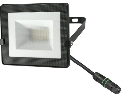 Projecteur LED IP65 20W 1.600lm 4.000K blanc neutre h 120mm noir