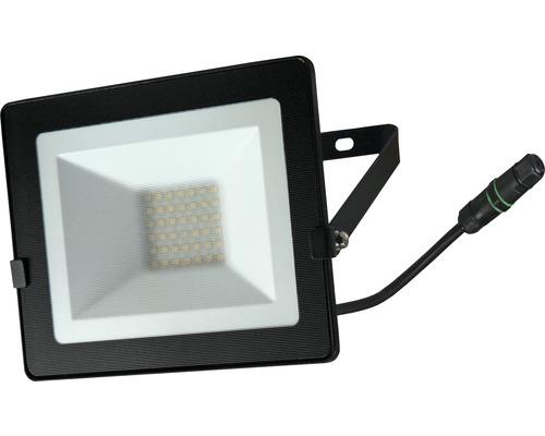 Projecteur LED IP65 30W 2400lm 4000K blanc neutre H150mm noir