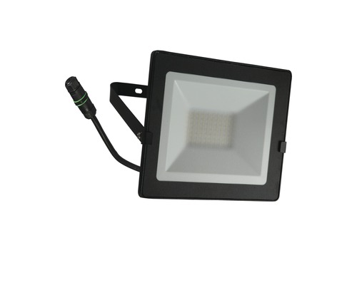 Projecteur LED IP65 50W 4000lm 4000K blanc neutre H180mm noir