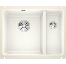 Évier à encastrer BLANCO SUBLINE 350/150-U blanc cristal-thumb-0