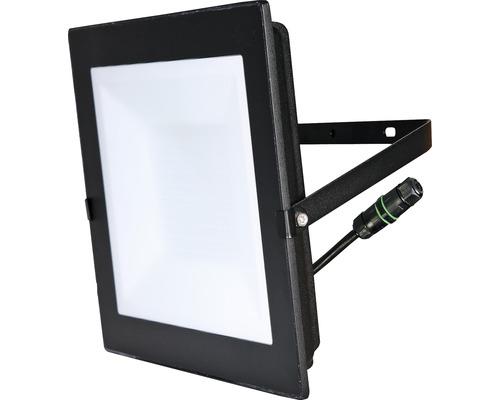 Projecteur LED IP65 100W 7500 lm 4000 K blanc neutre H 290 mm noir