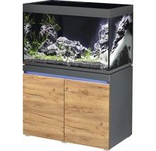 Kit complet d''aquarium EHEIM incpiria 330 avec éclairage à LED et meuble bas éclairé graphite/chêne-thumb-0