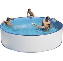 Kit de piscine à paroi en acier Ø 350cm, hauteur 90cm-thumb-0